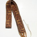 Belt Made with Seeds by Amazon Native Tribes