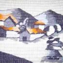 Woven Wool Bolivian Street Scene