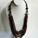 Necklace Made with Amazon (Babaçu, Açai & Morototó) Seeds