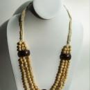 Short Necklace Made with Amazon (Açai & Jarina) Seeds