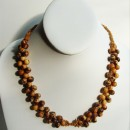 Short Necklace Made with Amazon (Açai & Morototó) Seeds