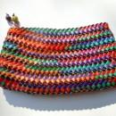 Natural Fiber Woven Hand Purse (with zipper)