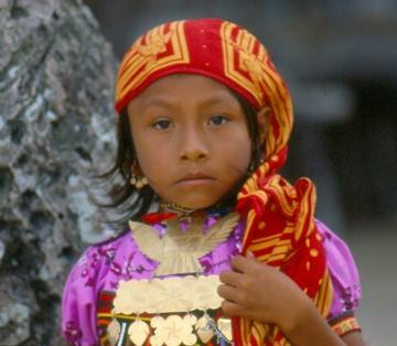 Kuna Indian Girl