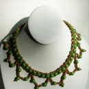 Açaí necklace (green)