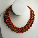 Açaí necklace (red)