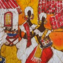 Batik of Bahia People by Cleo