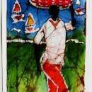 Batik of Fisherman by Cleo