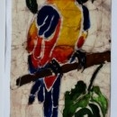 Batik of Tropical Bird by Rubens
