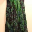 Casual Summer Dress - Sleeve/Green