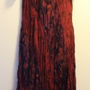 Casual Summer Dress - Sleeve/Wine