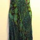 Casual Summer Dress - Sleeveless/Green