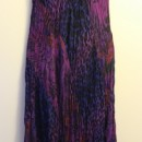 Casual Summer Dress - Sleeveless/Purple