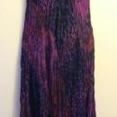 Casual Summer Dress - Sleeveless/Purple