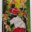 Batik of Cacao Grower (Green)